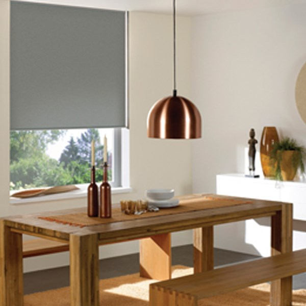Blinds.ca: Economy Room Darkening Vinyl Roller Shade