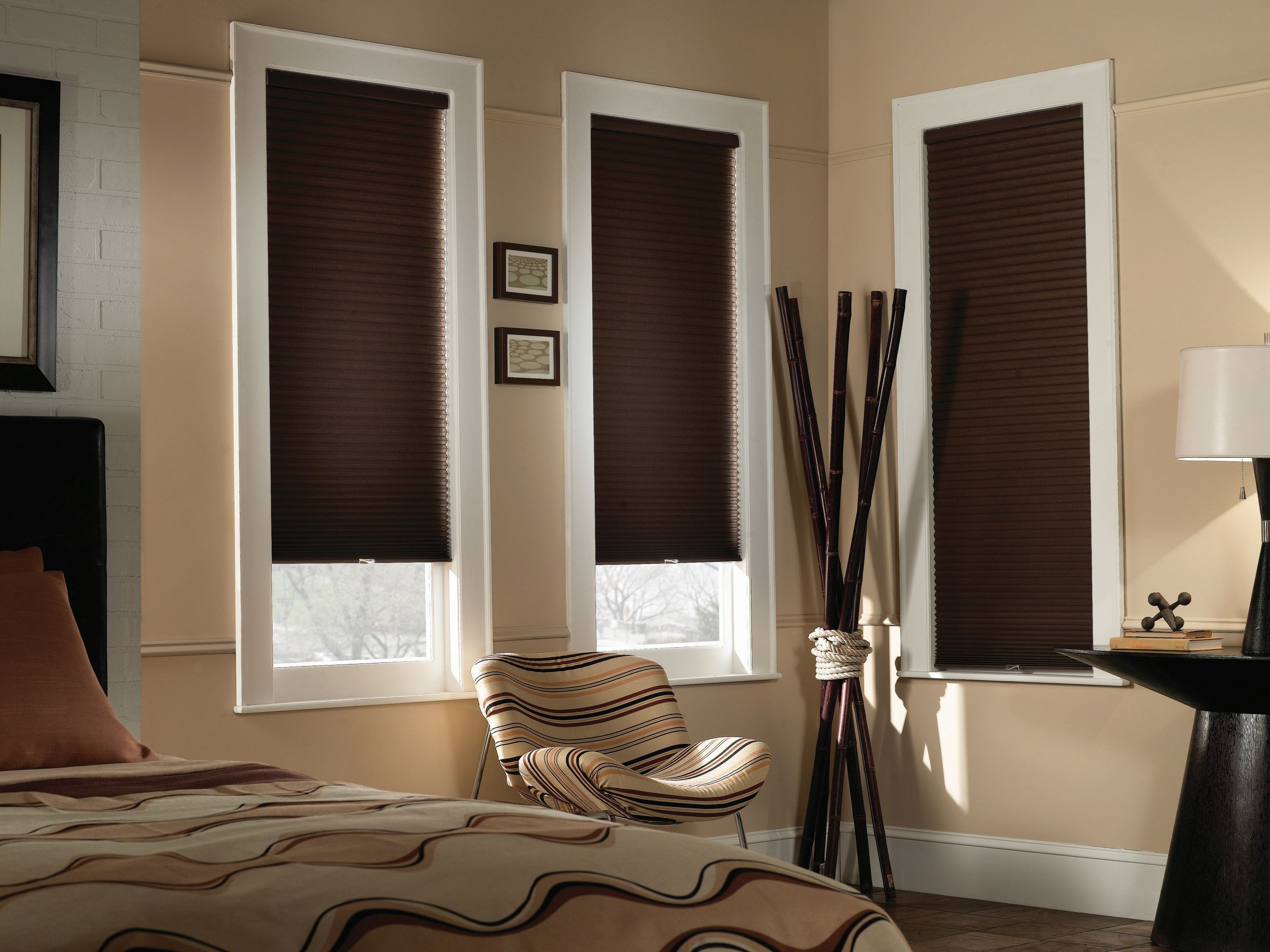 Blinds.ca:  Budget Cordless Blackout Cellular Shade