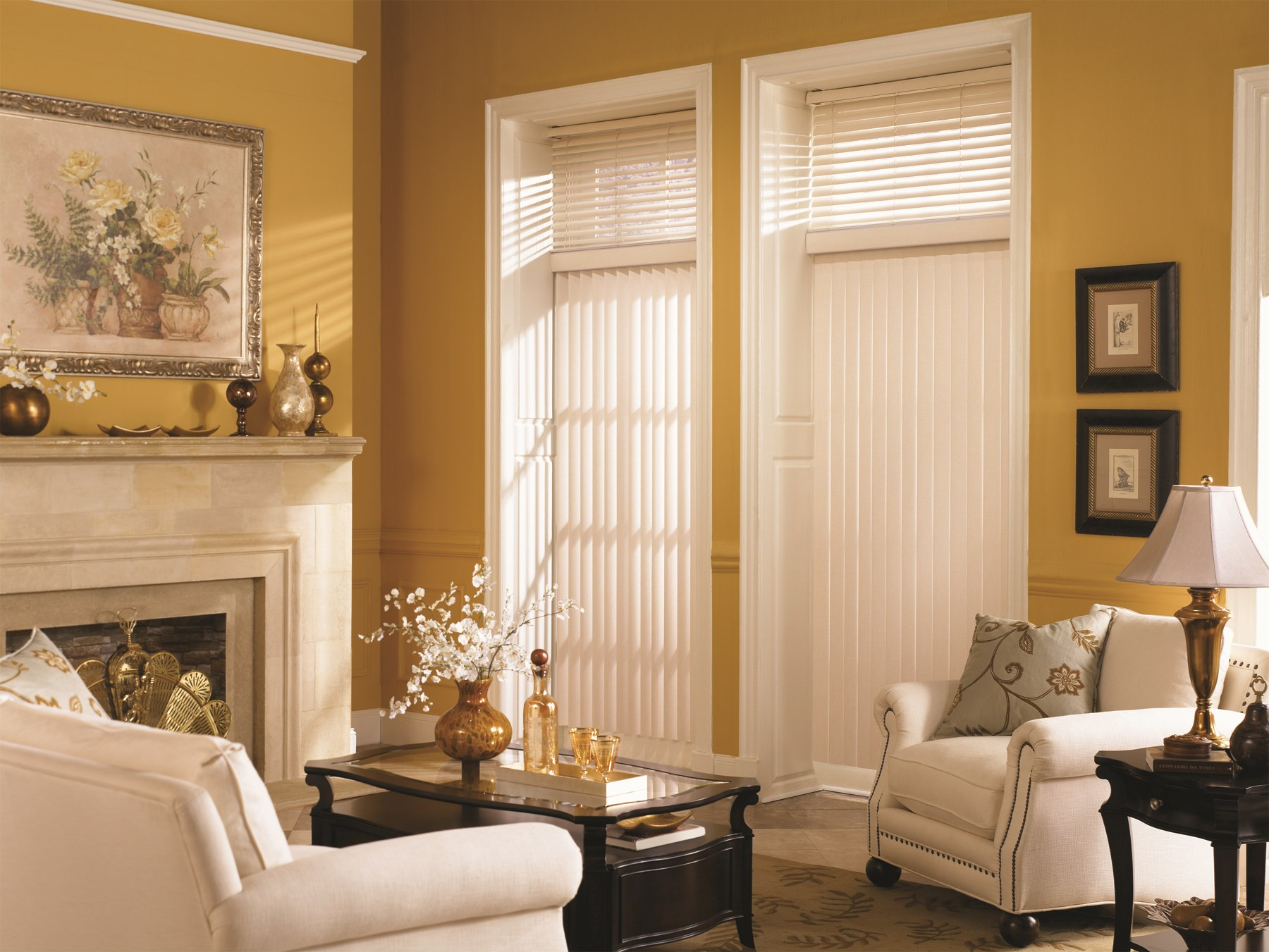 Graber: Smooth PVC Crown Vertical Blind