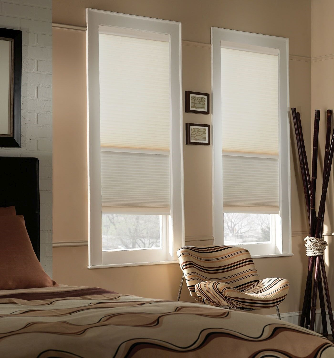 Blinds.ca: Cordless Day Night Cellular Shade