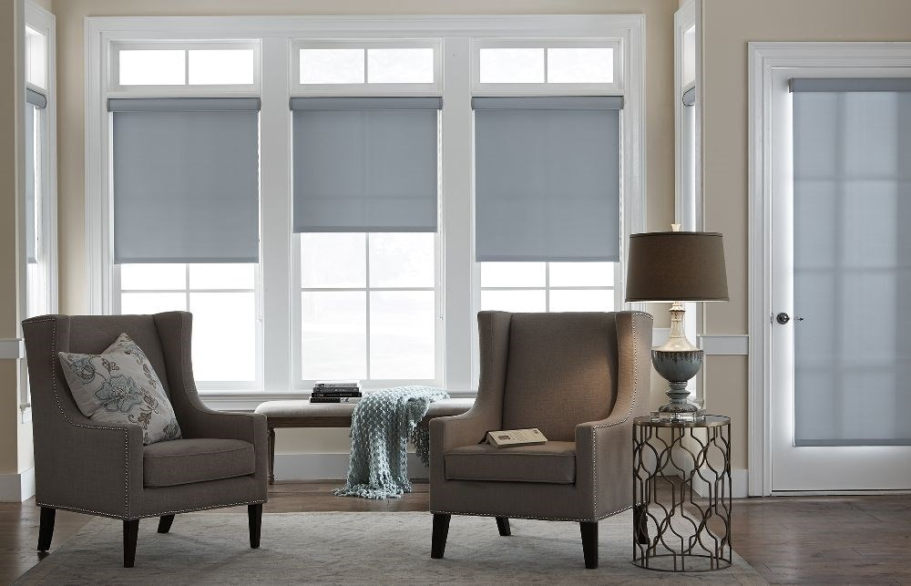 Economy Blackout Roller Shade Blinds Ca