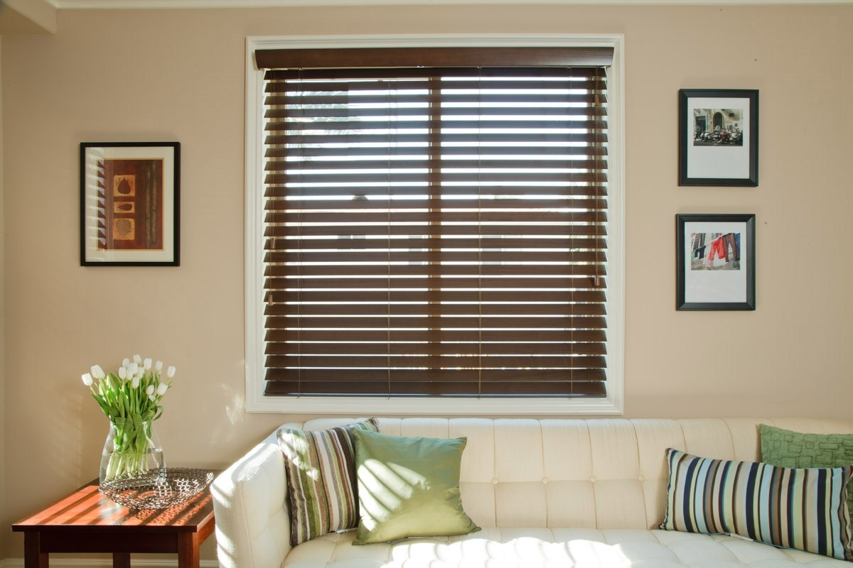 "2 1/2"" Normandy Wood Blinds"