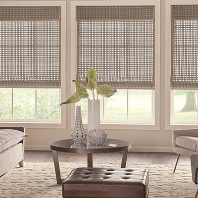 Natural Woven Wood Shades Blinds Ca