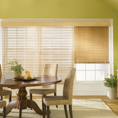 Faux wood blind 2 for Bali motorized blinds cost