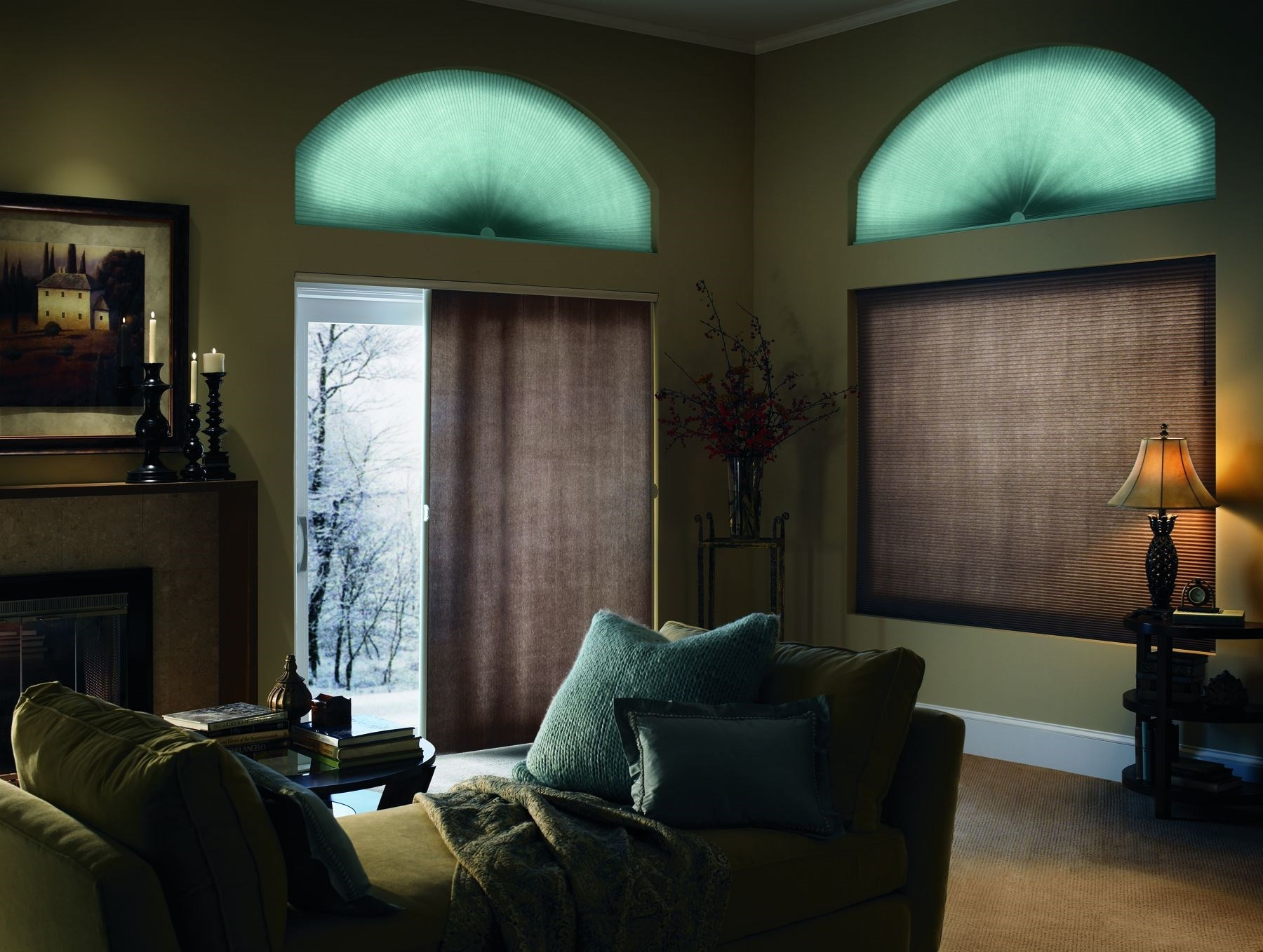 Light Filtering Vertical Cellular Shades