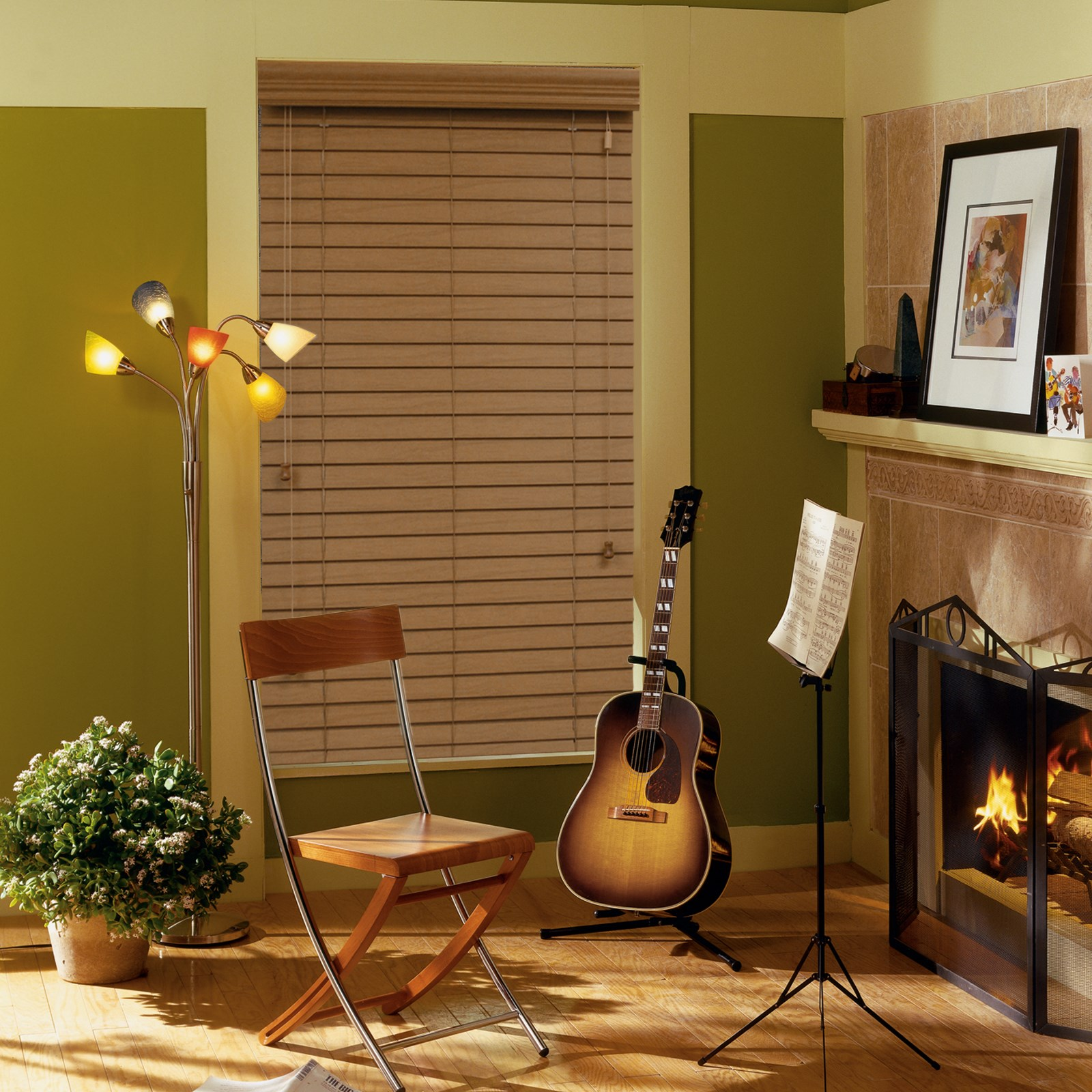 "2"" Premium Faux Wood Blind"