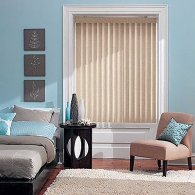S-Shaped Vinyl Vertical Blind