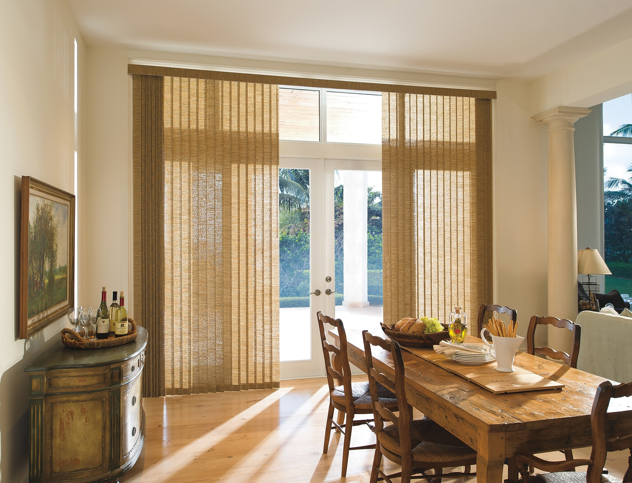 Levolor Vertical Fabric Blind