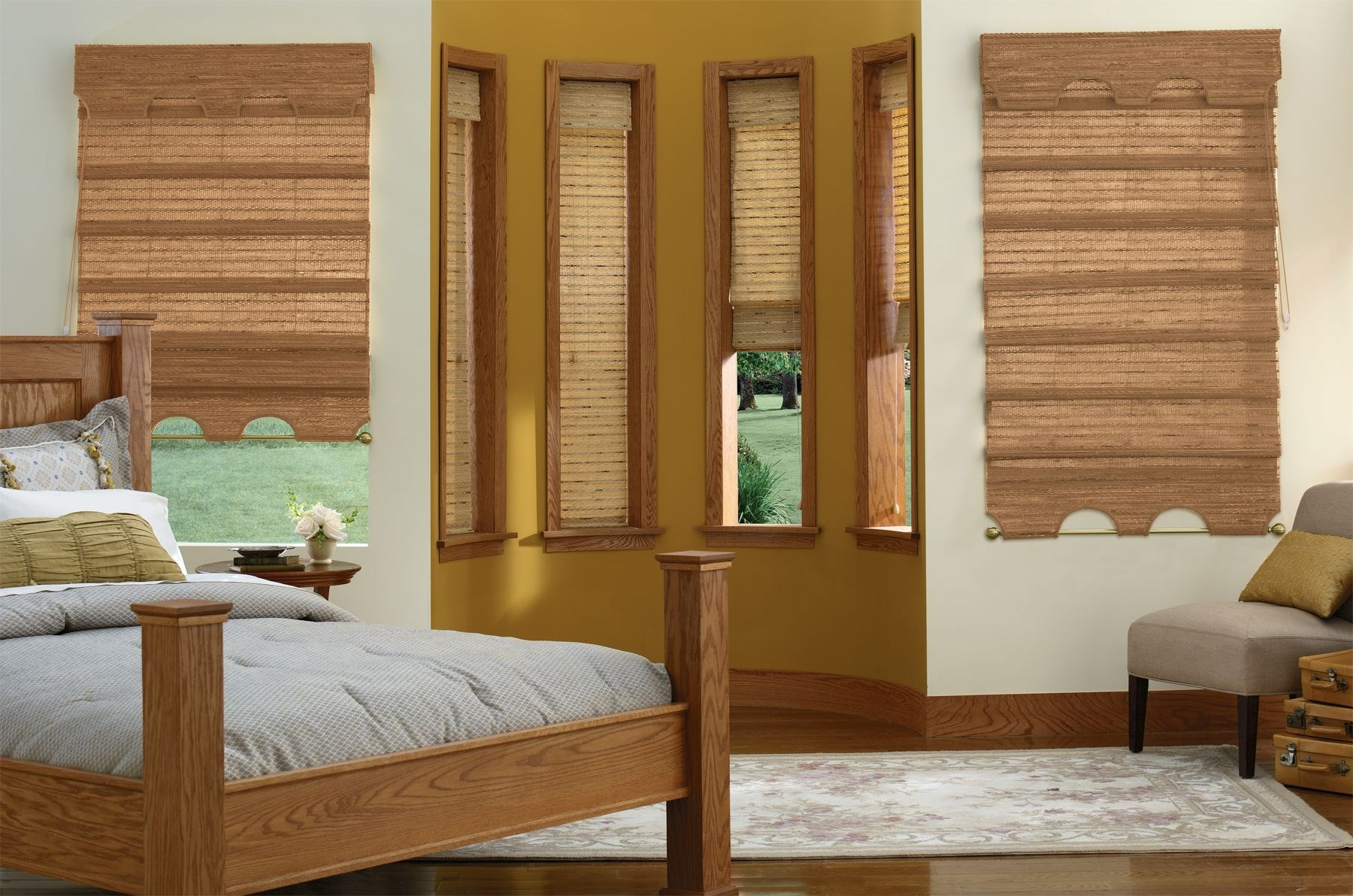 Natural Woven Wood Shades