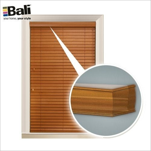 "Essentials 2"" Faux Wood Blind"