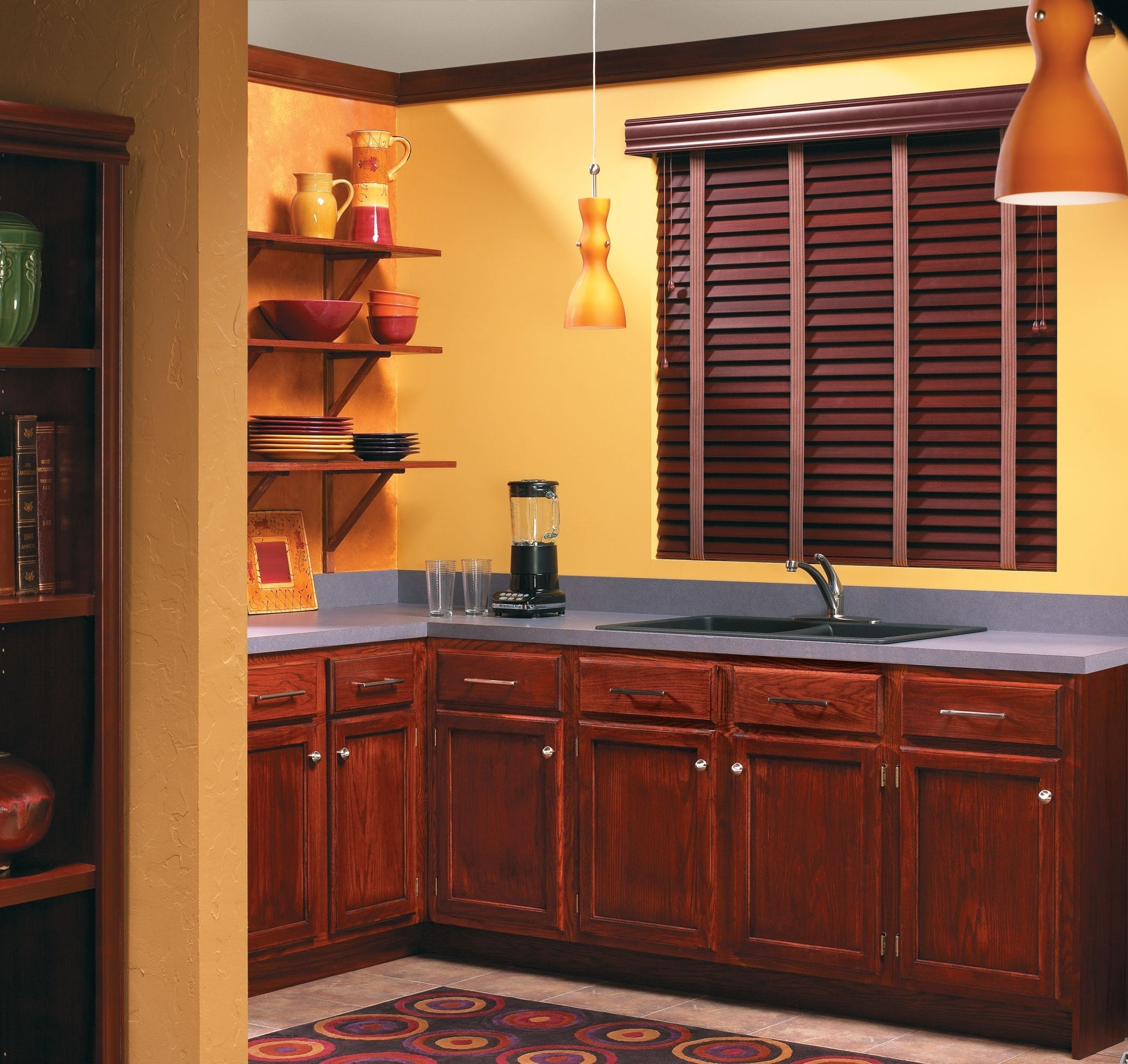 Faux Wood Blind - 2""